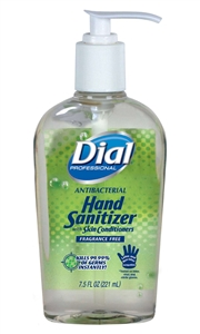 Dial Instant Hand With Moisturizers Sanitizer - 7.5 Oz.