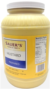 Mayo, Dressings and Condiments Mustard 1 Gal.