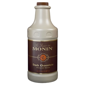 Monin Dark Chocolate Sauce - 64 Oz.