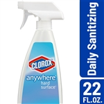 Clorox Anywhere Hard Surface Sanitizer Spray - 22 Oz.