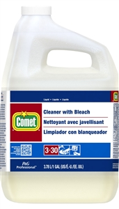 Procter and Gamble Comet Cleaner with Bleach Closed Loop 1 Gal.