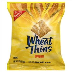 Kraft Nabisco Wheat Thins Cracker Single Serve - 1.75 Oz.