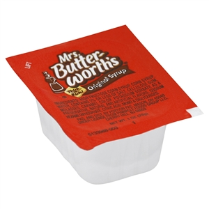Portion Pac Mrs Butterworth Syrup Portion Pack - 1 Oz.