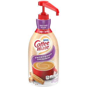 Nestle Coffee Mate Concentrate Original Liquid Creamer With Pump - 1.5 Liter