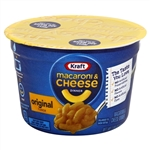 Kraft Nabisco Easy Macaroni and Cheese Original Entree Cup - 2.05 Oz.