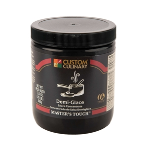 Custom Culinary Masters Touch Demi Glace Sauce Concentrate - 13.6 Oz.