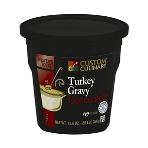 Turkey Gravy Concentrate Paste - 13.6 oz.