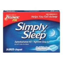 Simply Sleep Caplets 24S