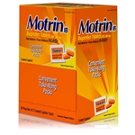 Johnson and Johnson Motrin IB Caplets 12 Boxes of 100 Tablets