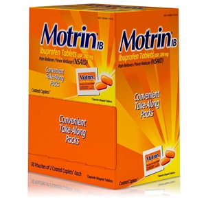 Johnson and Johnson Motrin IB Caplets