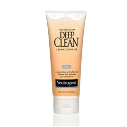 Neutrogena Deep Clean Cream Cleanser - 7 Oz.