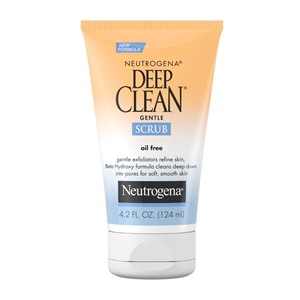 Neutrogena Deep Facial Clean Gentle Scrub - 4.2 Fl. Oz.
