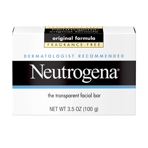 Neutrogena Facial Original Formula Fragrance Free Soap- 3.5 Oz.