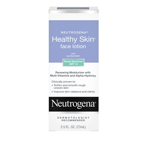 Neutrogena Healthy Skin Face Lotion Spf 15 - 2.5 Fl. Oz.