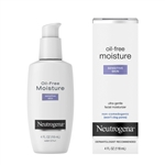 Neutrogena Oil Free Moisture Sensitive Skin - 4 Fl. Oz.