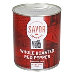 Peppers Red Roasted Whole - 28 Oz.