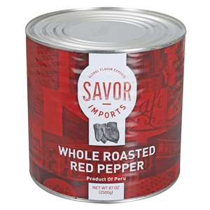 Imports Roasted Peppers Red
