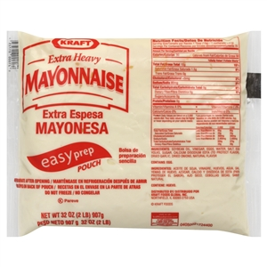 Kraft Nabisco Extra Heavy Mayonnaise - 32 Oz.