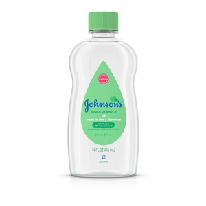 Baby Oil with Aloe Vera and Vitamin E - 14 Oz.