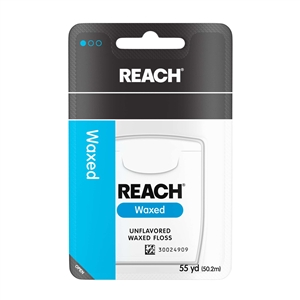 Johnson and Johnson Reach Waxed Dental Floss - 55 Yd.