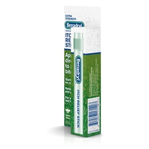 Benadryl Extra Strength Itch Relief Stick - 14 Ml.