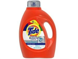 Tide Laundry Liquid High Efficiency Dbl Strength - 100 Fl. Oz.