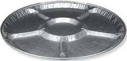 Handi Foil Embossed Lazy Susan Tray - 16 in.