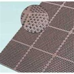 Cactus Honey Comb Mat Brown 3 Ft. x 4 ft.