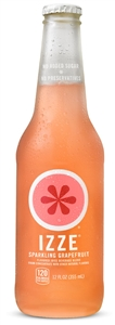 Izze Beverage Grapefruit Bottle - 12 Oz.
