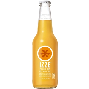 Izze Beverage Clementine Bottle - 12 Oz.