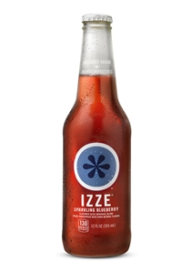 Izze Beverage Blueberry Bottle - 12 Oz.