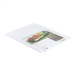 Tablecraft Polyethylene Board Cutting White - 18 in. x 24 in.