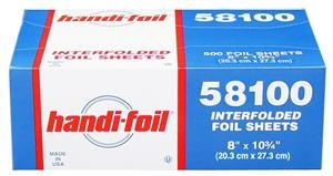 Handi Foil Interfolded Sheets - 8 in. x 10.75 in.