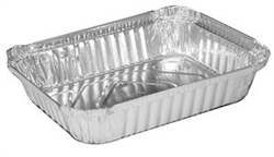 Aluminum Olong Container - 2 Pound