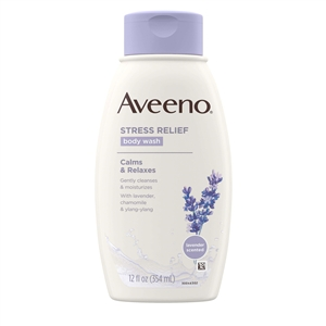 Aveeno Stress Relief Body Wash  - 12 Fl. Oz.