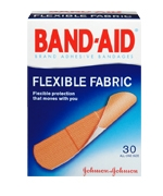 Flexible Fabric All One Size Band Aid Bandage
