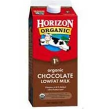 White Wave Horizon Organic Single Serve Fat Reduced Chocolate Milk - 8 Oz