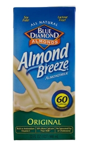 Original Non-Dairy Almond Breeze Beverage - 25 Lb.
