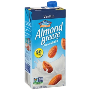 Almond Breeze Beverage Vanilla - 32 Oz.