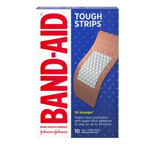 Band-Aid Bandages Tough Strips Extra Large