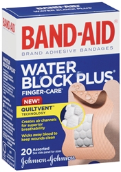 Band-Aid Water Block Plus Finger Care Bandages