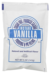 Sugar Free Instant Vanilla Pudding Mix - 5 Oz.