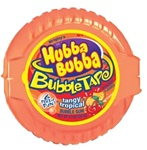 Wrigleys Tangy Tropical Hubba Bubba Gum Tape - 2 Oz.