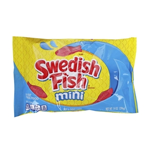 Swedish Fish Candy Kids Laydown Bag - 14 Oz.