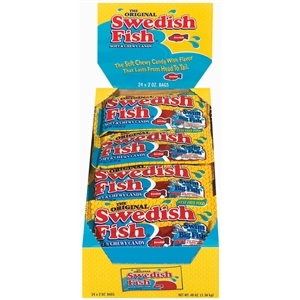 Swedish Fish Candy Red Bag - 2 Oz.