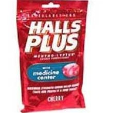 Cadbury Adams Cherry Halls Plus Bag 25 Pieces