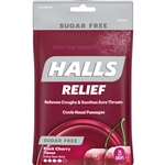 Cadbury Adams Black Cherry Sugar Free Halls 25 Pieces