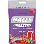 Halls Breezers Sugar Free Cooling Berry