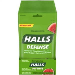 Halls Defense Watermelon 30 Piece