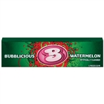 Cadbury Adams Bubblicious Singles Watermelon Wave Bubble Gum